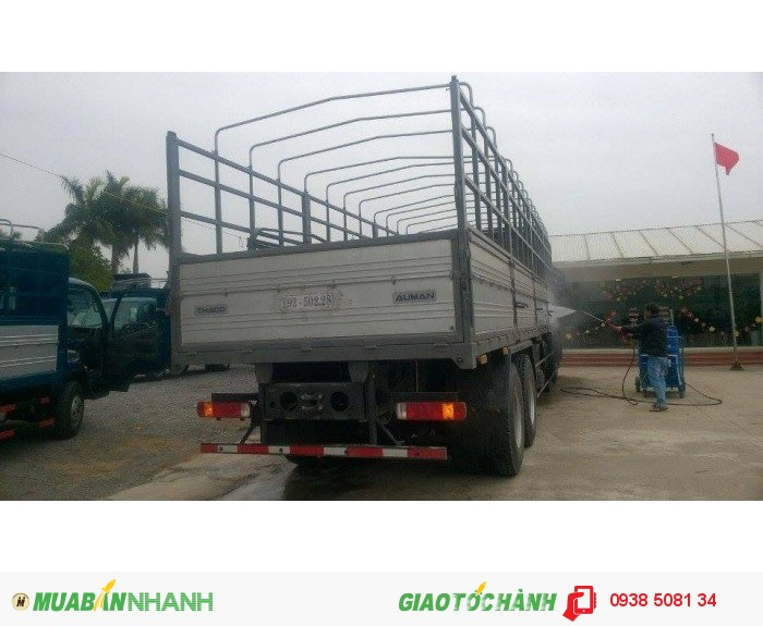 Xe tải 4 chân Thaco Auman C3000B (8x4), tải trọng 18 tấn hỗ trợ trả góp 70% 3