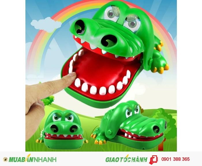 Hướng dẫn cách chơi :  - Cá sấu có nhiều răng, người chơi lần lượt nhấn vào từng cái răng, khi nhấn vào răng của cá sấu mà vào trúng cái răng đau thì sẽ nghe tiếp