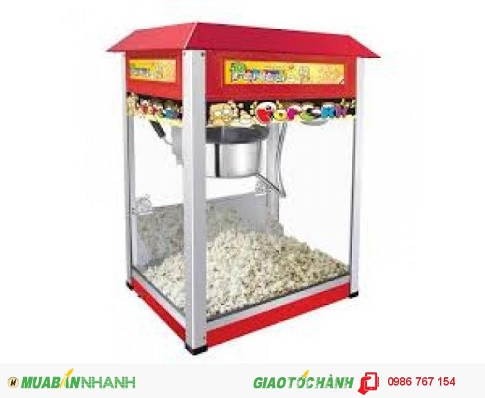 Nồi nổ bắp rang bơ, máy làm bắp rang bơ chạy điện, máy nổ bỏng ngô gạo giá rẻ