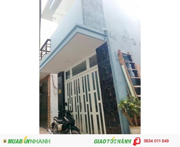 Bán nhà hẻm xe hơi 308 Huỳnh Tấn Phát, Phường Tân Thuận Tây Quận 7 - 1.59 Tỷ.