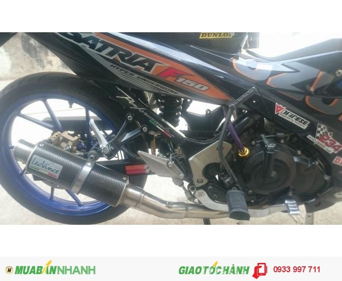 Satria F150 2013 cần ra đi theo chủ mới
