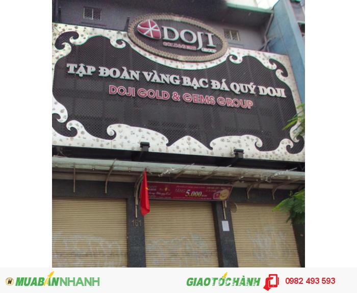 Cho thuê nhà mặt phố đường Hàm Nghi, P.Nguyễn Thái Bình, Q. 1, DT: 12x25m, diện tích: 600m2, 2 lầu, giá: 22.000$