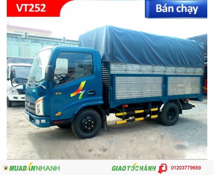 VT252 trọng tải 2t4 dài 3.850