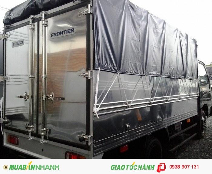 Bán xe tải Thaco Kia tải trọng chuyên chở 1,4 tấn; 2,3 tấn và 2,4 tấn chạy trong thành phố được