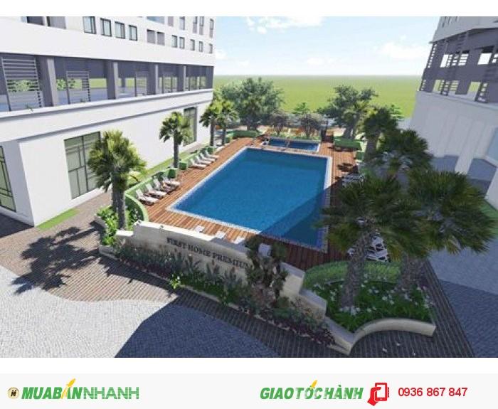 Chỉ với 800tr sở hữu căn hộ Q9, 2PN hướng công viên view hồ bơi