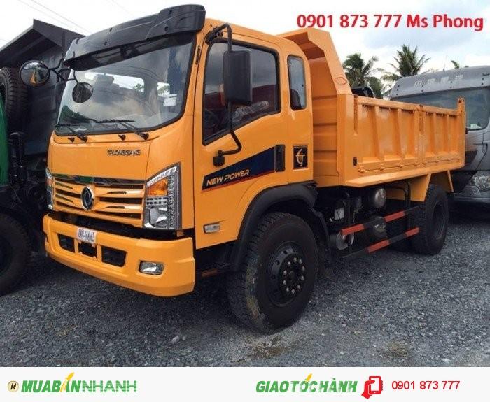 Chuyên bán xe ben tự đổ Dongfeng, Mua xe ben tự đổ Dongfeng 7 tấn 8 tấn 9 tấn 10 tấn 13 tấn trả góp 4