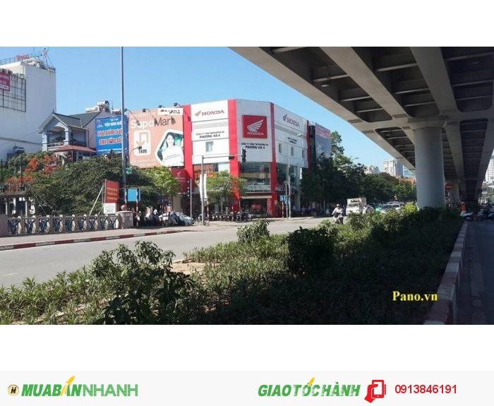 Biển quảng cáo: cầu vượt Láng Hạ – Lê Văn Lương