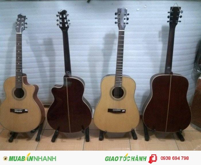 guitar gỗ giá tốt tặng kèm full phụ kiện