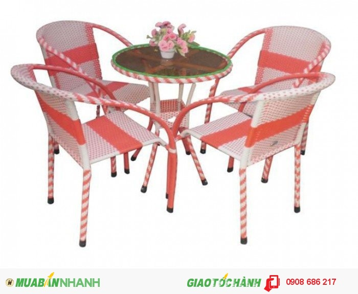Bàn ghế nhựa trực tiếp sản xuất giá rẻ1