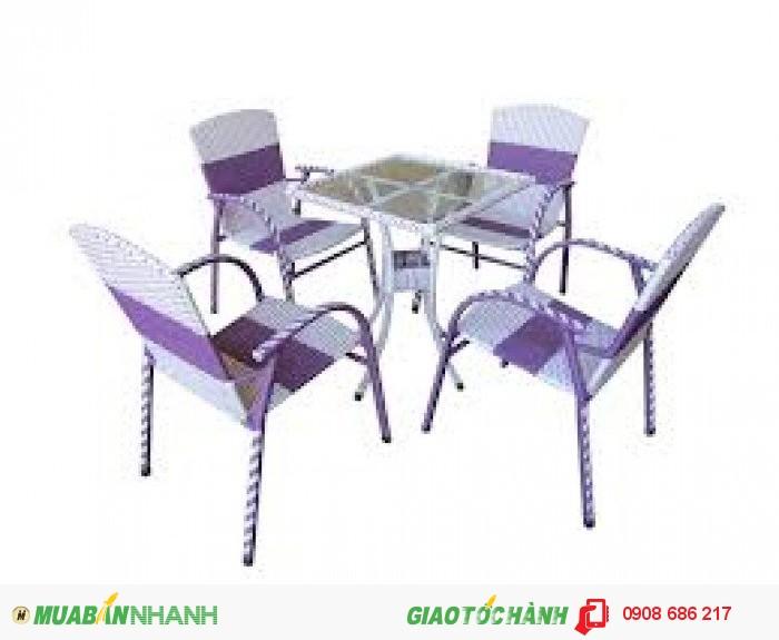 Bàn ghế nhựa trực tiếp sản xuất giá rẻ3