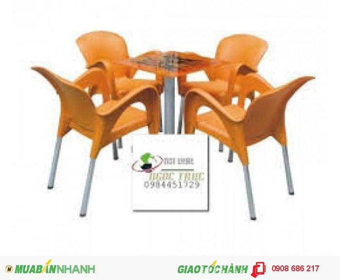 Bàn ghế nhựa trực tiếp sản xuất giá rẻ4