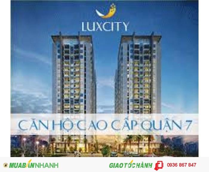 Bán căn hộ lux city sắp nhận nhà chỉ với 26 tr/m2