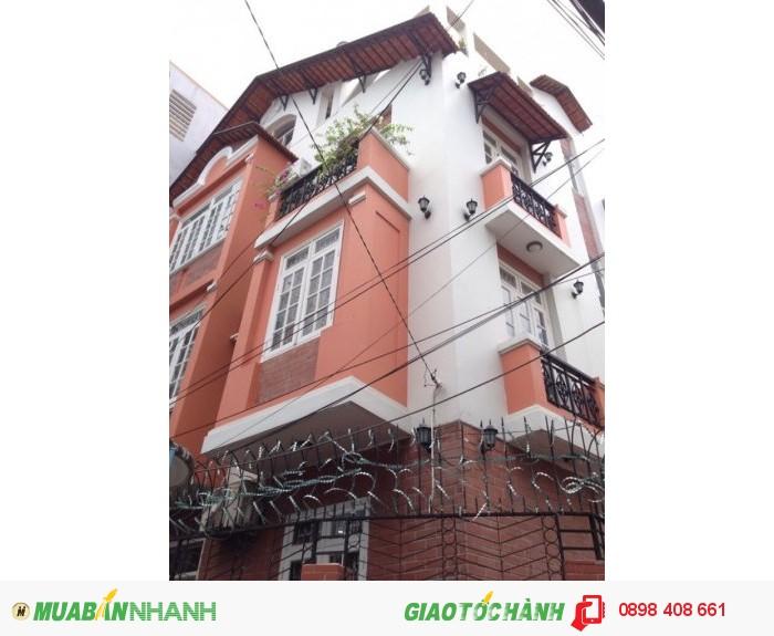 Bán Nhà Villa 6x8,5m Nở Hậu  Đoàn Thị Điểm P1 Phú Nhuận 6.8 Tỷ.