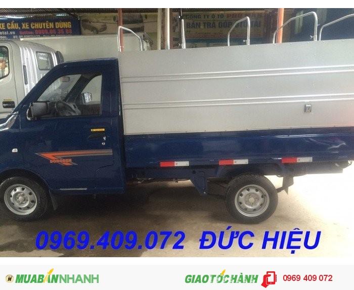Mua xe Dongben 870kg Db 1021 trả góp rẻ nhất , Bán xe Dongben 870kg giá rẻ nhất Miền...
