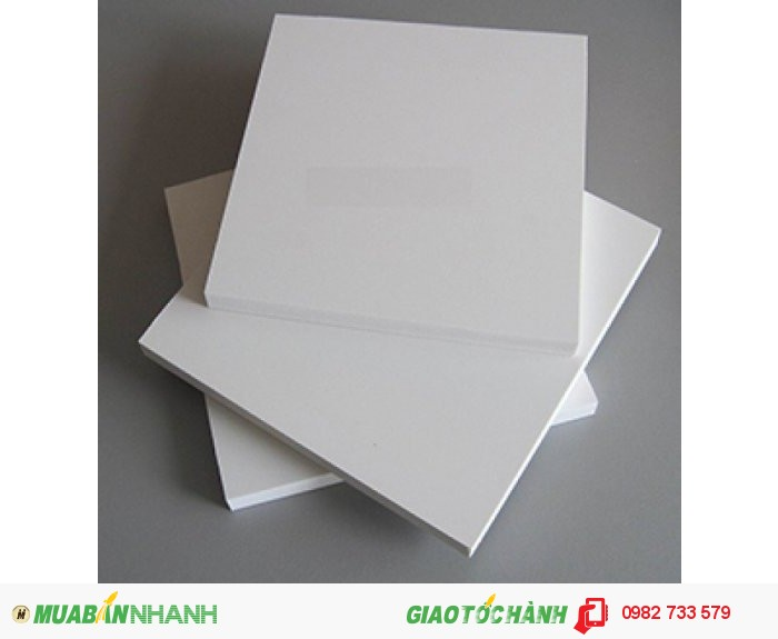 Nhựa PVC màu trắng sữa dùng làm đồ gá1