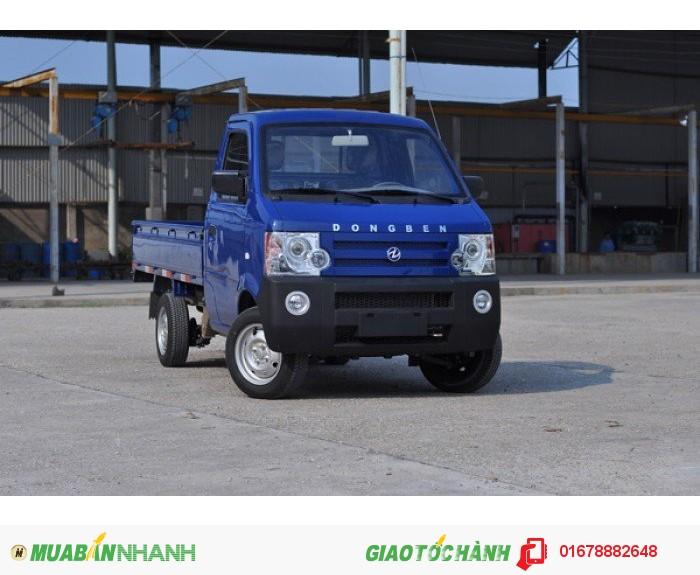 Xe tải Dongben 870kg thùng lửng - bạt - kín mới 100% giá cực hấp dẫn
