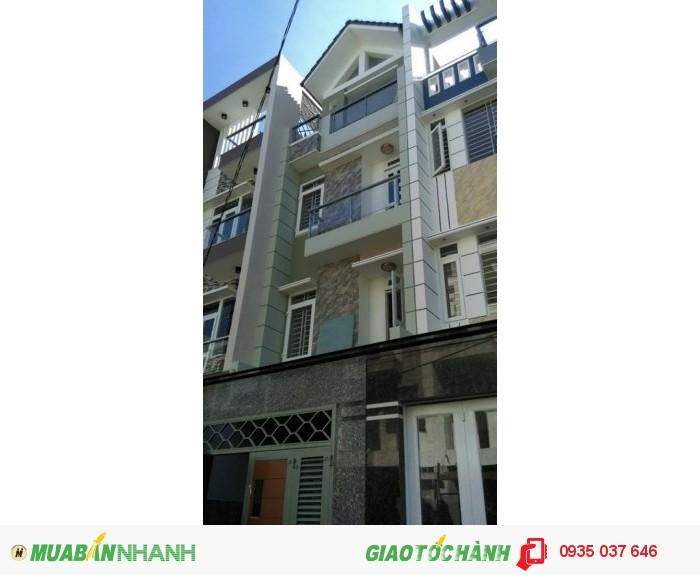 Bán nhà mới xây 3 tấm thật đường Lê Đình Cẩn, hẻm 5m.