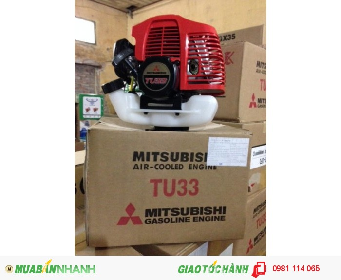 máy cắt cỏ mitsubishi tu330
