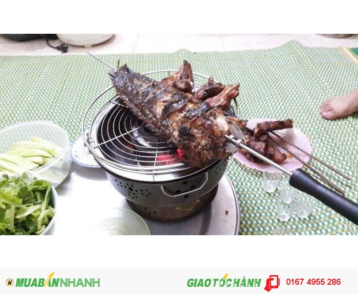 Bếp nướng than hoa,bếp nướng không khói,bếp nướng Nam Hồng BN300
