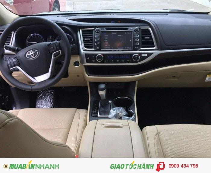 Toyota Highlander 3.5 Limited sx 2k16 full option, nhập Mỹ, 4