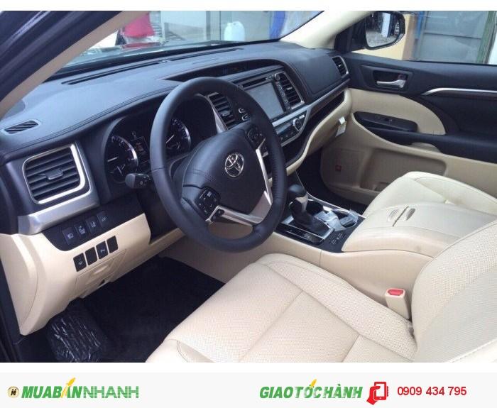 Toyota Highlander 3.5 Limited sx 2k16 full option, nhập Mỹ, 2