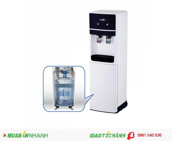 Cây nước nóng lạnh Karofi HC02 làm nóng sâu và làm lạnh nhanh
