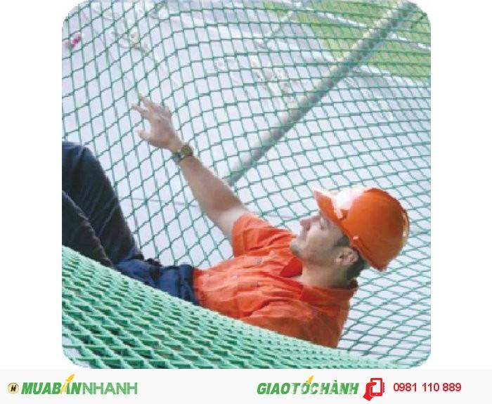 Lưới an toàn HÀn Quốc Green mắt 2.5 - 5cm