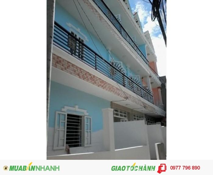 Cần Bán gấp nhà Nhà Bè, DT 4.4mx14m, 1 trệt 2 lầu, hẻm XH, đường Huỳnh Tấn Phát, thị trấn Nhà Bè, giá 1.85 tỷ.