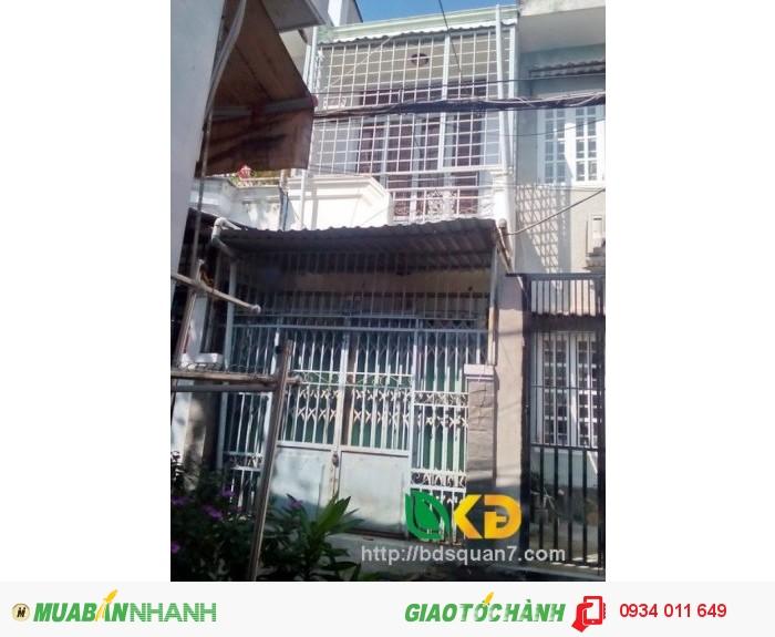 Bán nhà quận 7 dưới 2 tỷ, hẻm 994 Huỳnh Tấn Phát, Q7