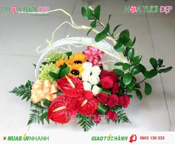 Hoa mừng sinh nhật - GSN035