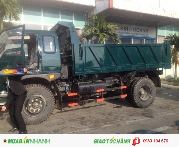 Bán Xe Ben 6 Tấn, Thaco Forland Fld600c, Giá Tốt Nhất Tây Ninh