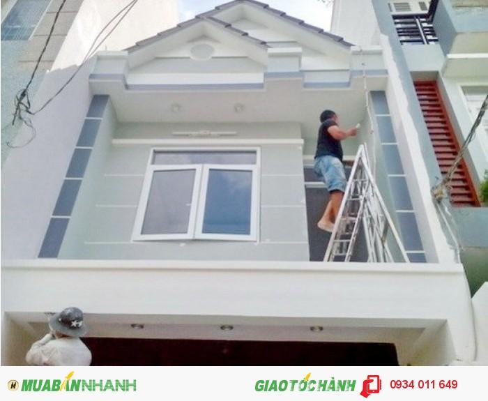 Bán nhà quận 7, nhà 1 lầu mới, đường 79, F. Tân Phong, Quận 7- 4.4 tỷ