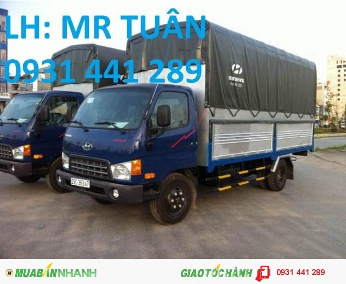 Bán xe tải hyundai hd800, new mighty hd800 giá rẻ