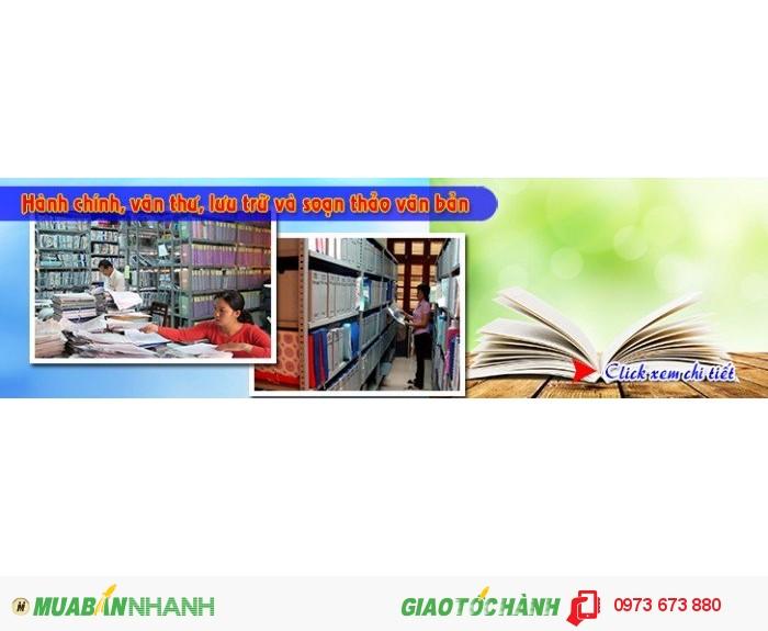 Tuyển sinh lớp văn bằng 2 hành chính văn thư tại Hà Nội