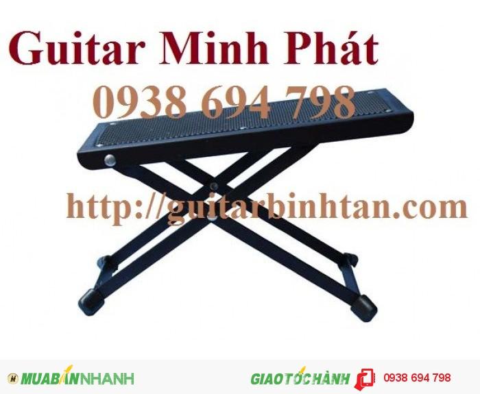 bàn gác chân đàn guitar