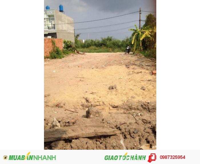 Đất mặt tiền KD ngay chung cư Thạnh Lộc, phường Thạnh Lộc. Quận 12. DT: (8x22)m