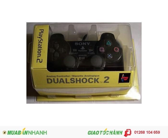 Tay cầm game PS2 chính hãng có hộp