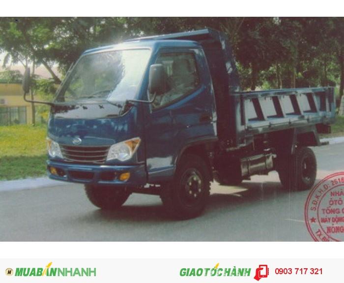Bán trả góp xe ben Veam VB150 (1.5 tấn)/ Giá xe ben Veam VB150(1.5 tấn) 0