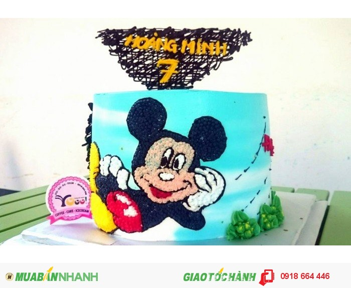 Bánh sinh nhật cho bé trai1