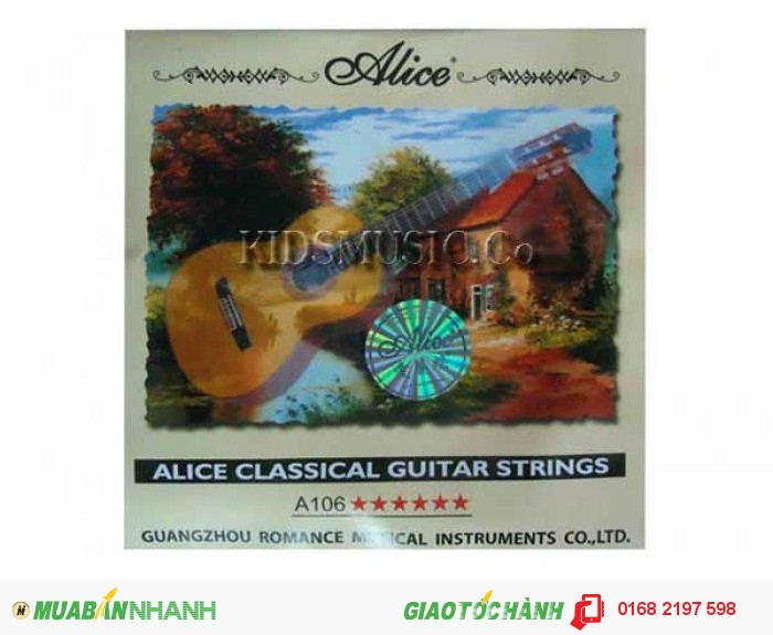 Dây đàn Classic Guitar Alice A106