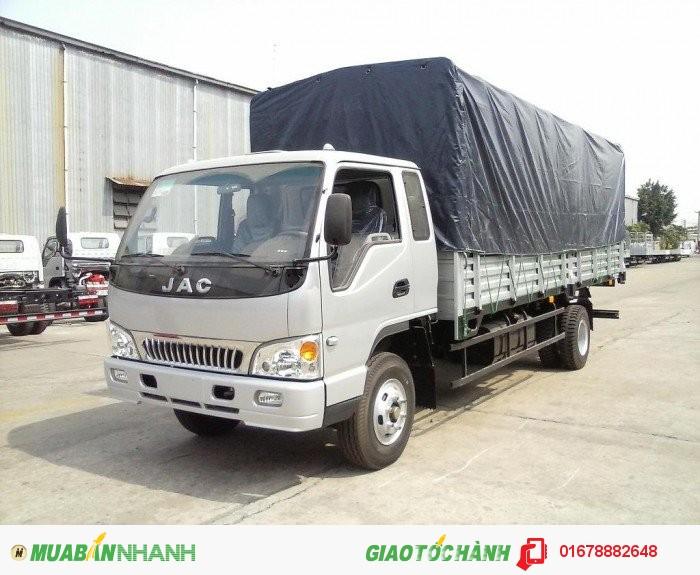 Xe tải JAC 2.4 tấn mới máy isuzu