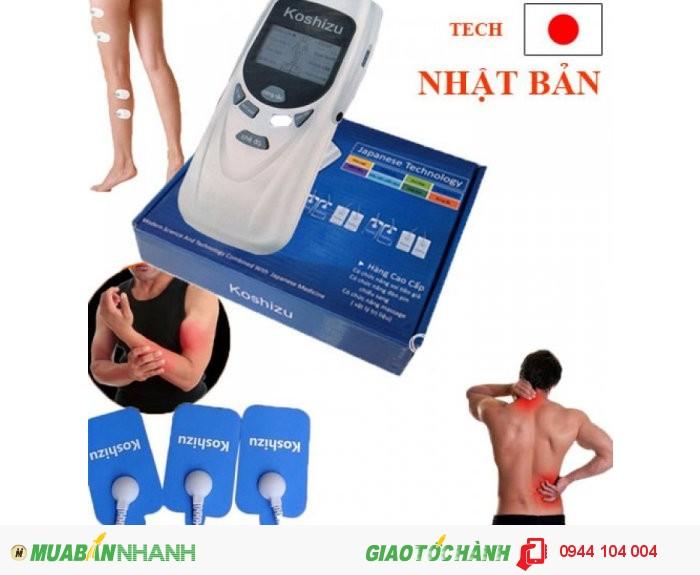 Chăm sóc sức khỏe: tập thể dục, spa và thư giãn giờ đây thật đơn gian với máy massage xung điện 8 miếng dán Koshizu