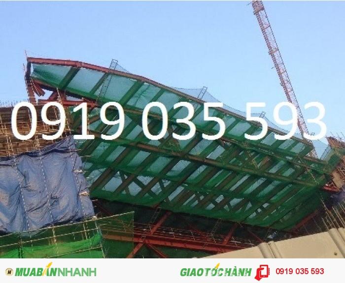 Lưới an toàn hàn quốc ô 2.5cm phục vụ công trình xây dựng giá rẻ