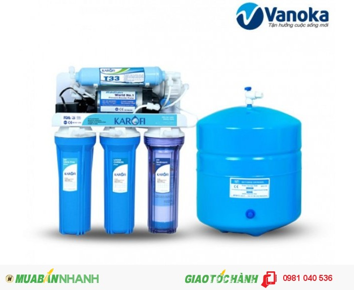 Máy lọc nước Karofi KT5 (5 cấp lọc)