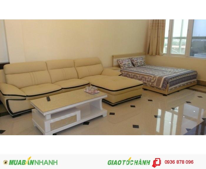 Cho thuê căn hộ 1 phòng ngủ gần trung tâm TP