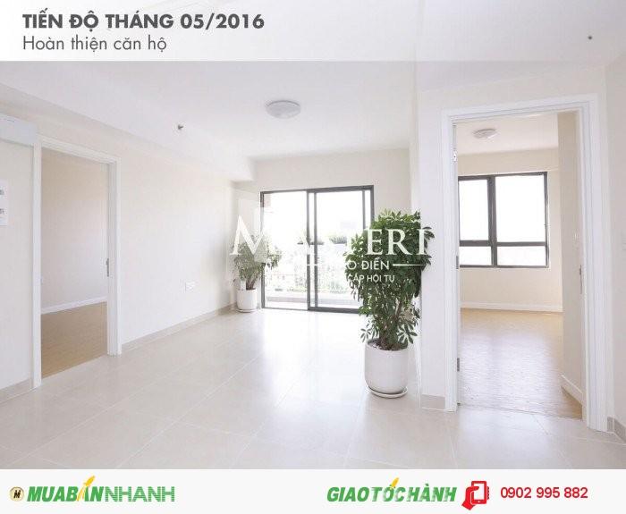 Bán căn hộ Masteri Thảo Điền Q2, 2PN, tầng trung, 2.35 tỷ.