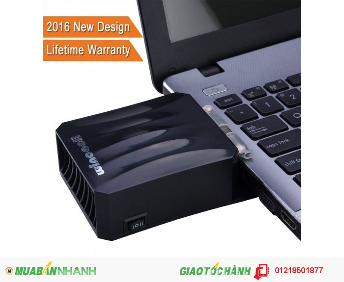 Laptop Cooler with Cooling Vacuum Fan and Cooling Pad for Computer Gaming