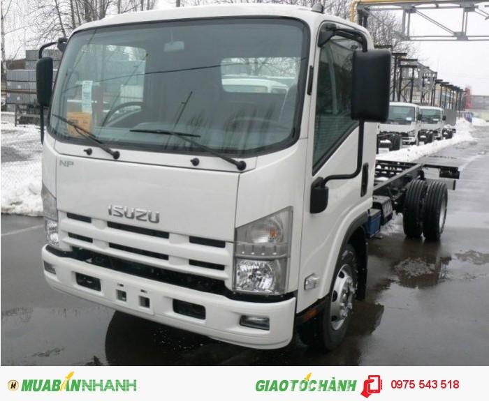 Bán Xe tải Isuzu mui bạt NLR55E 1.4 tấn thùng dài 3.2m, giao xe ngay