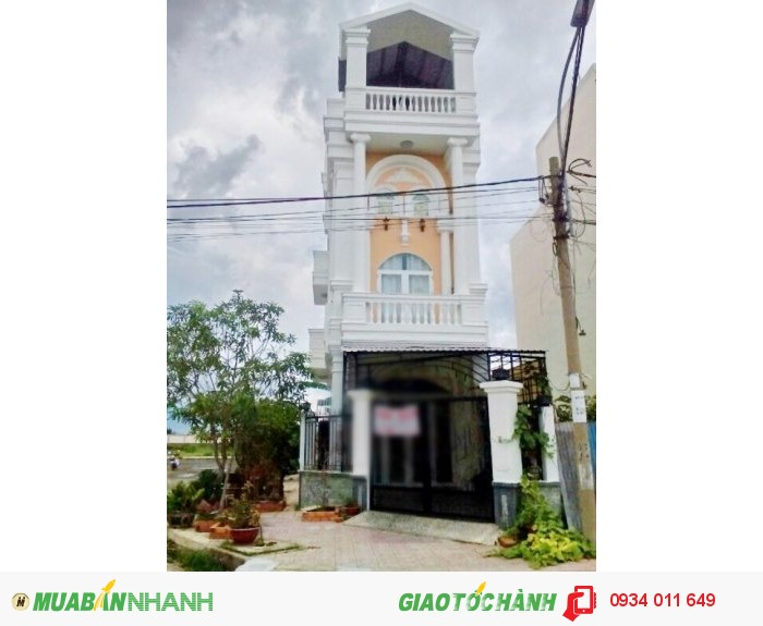 Bán gấp nhà phố 2 lầu, mặt tiền đường Khu Dân Cư Cotec Phú Xuân, Nhà Bè