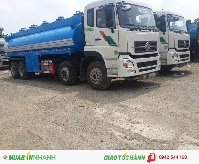Bán xe téc chở xăng dầu 22 khối Dongfeng